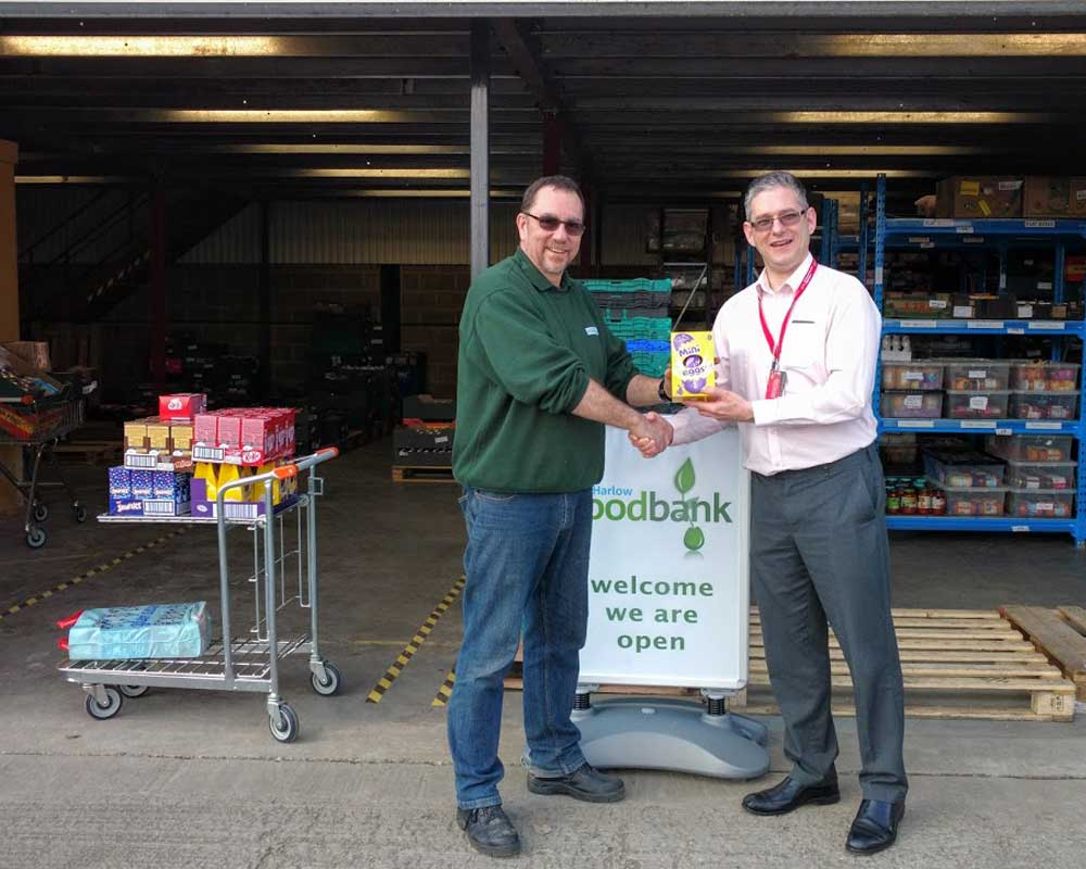 Harlow Foodbank News And Referral Figures Mrct